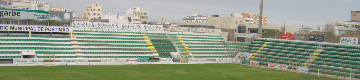 stadium where Portimonense SC play football in the