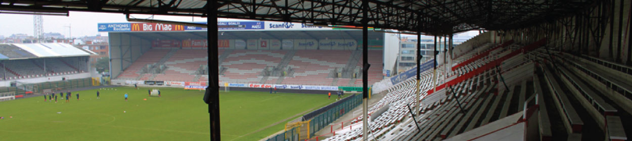 Bosuilstadion stadium where Royal Antwerp FC play football in the