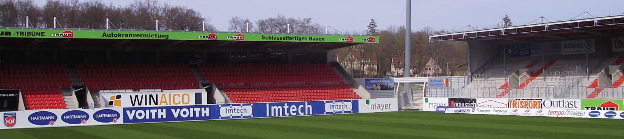 stadium where 1 FC Heidenheim play football in the
