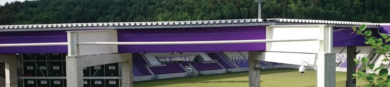 Erzgebirgsstadion stadium where Erzgebirge Aue play football in the