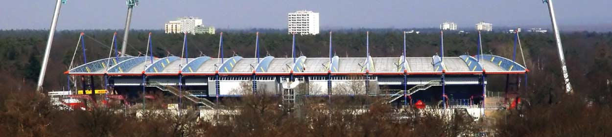 stadium where Karlsruher SC play football in the