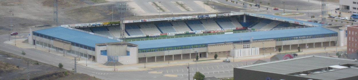 stadium where SD Ponferradina play football in the