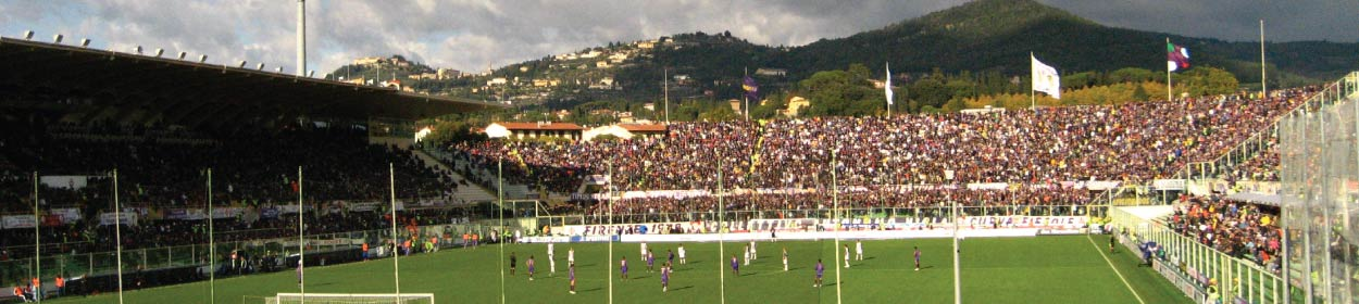 Artemio Franchi stadium where Fiorentina play football in the Serie A