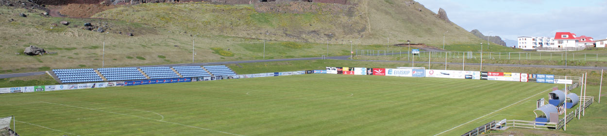stadium where IBV Vestmannaeyjar play football in the