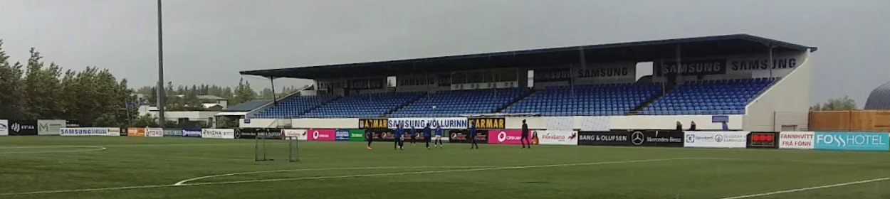 stadium where Stjarnan Gardabae play football in the
