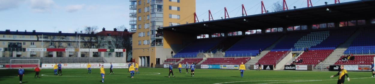 stadium where AFC Eskilstuna play football in the