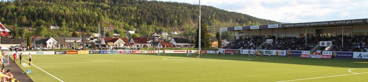 stadium where Mjondalen play football in the