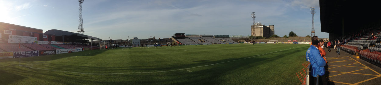 stadium where Bohemians Dublin FC play football in the