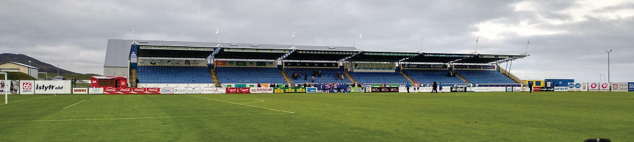 stadium where UMF Grindavik play football in the