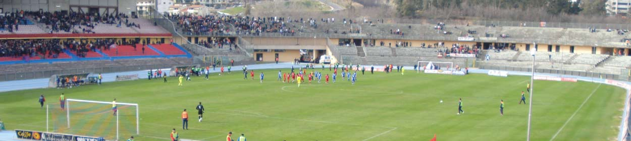 stadium where Cosenza Calcio play football in the
