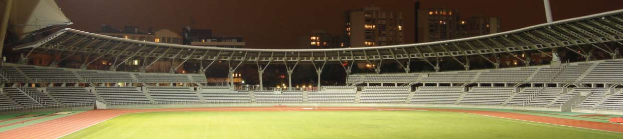 Stade Sebastien Charlety stadium where Paris FC play football in the