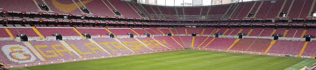 stadium where Galatasaray play football in the