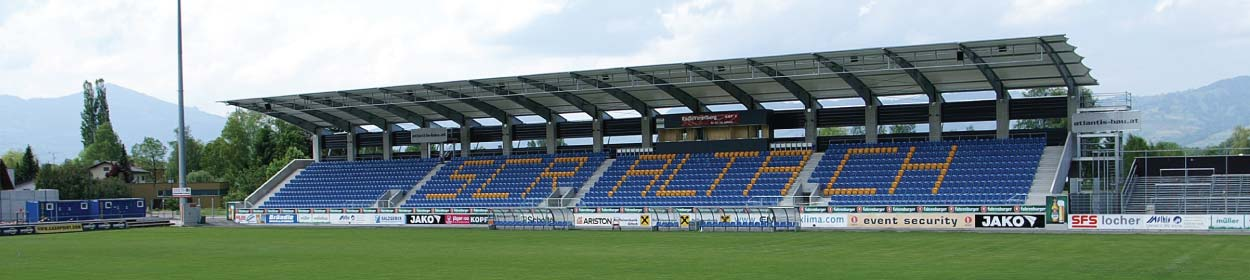 Cashpoint Arena stadium where SCR Altach play football in the