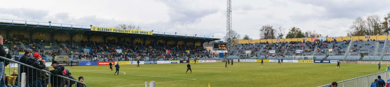 stadium where SFC Opava play football in the