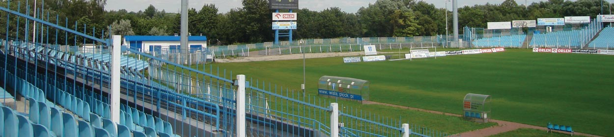 stadium where Wisla Plock SA play football in the