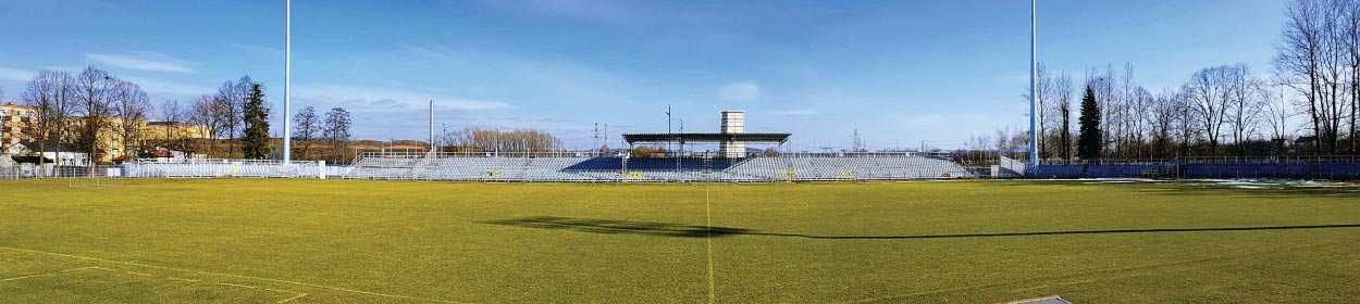 stadium where KS Rakow Czestochowa play football in the