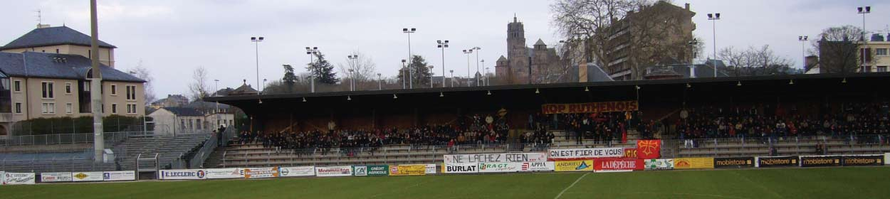 stadium where Rodez Aveyron play football in the