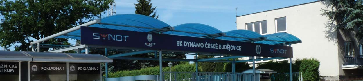 stadium where SK Dynamo Ceske Budejovic play football in the