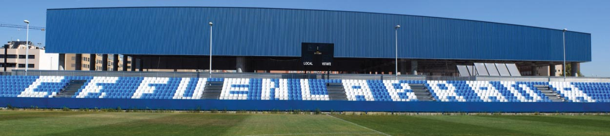 stadium where Fuenlabrada play football in the