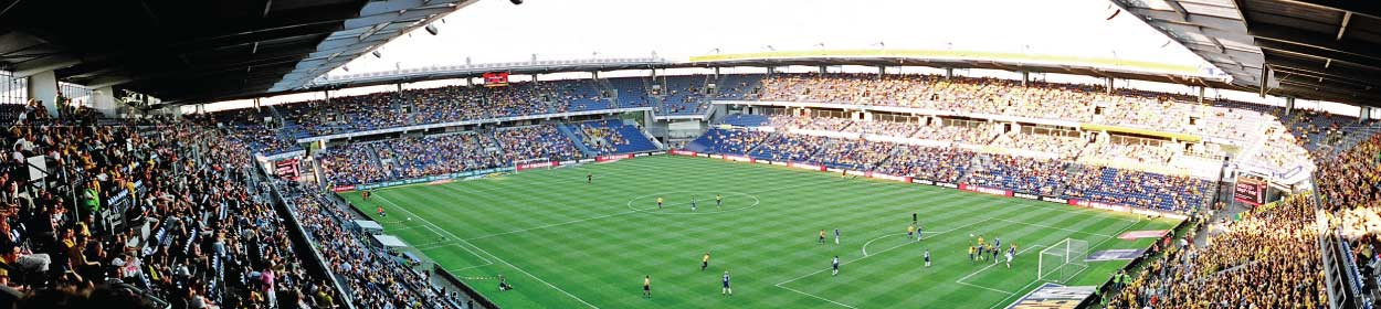 stadium where Brondby play football in the