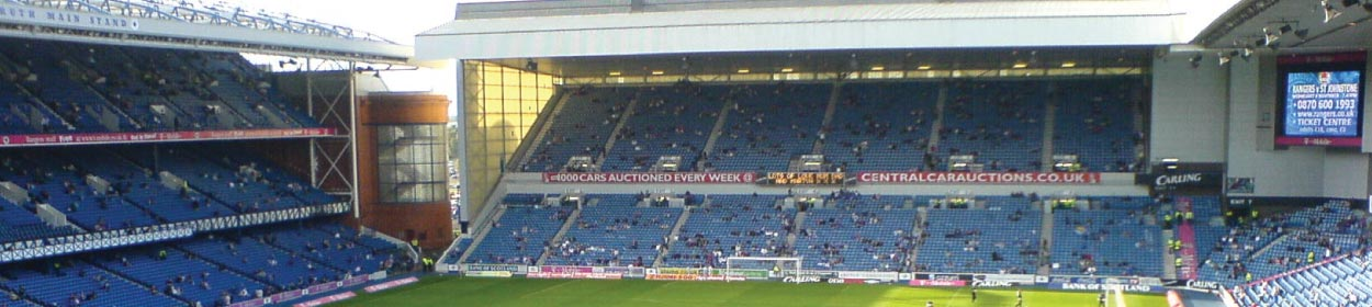 stadium where Rangers play football in the