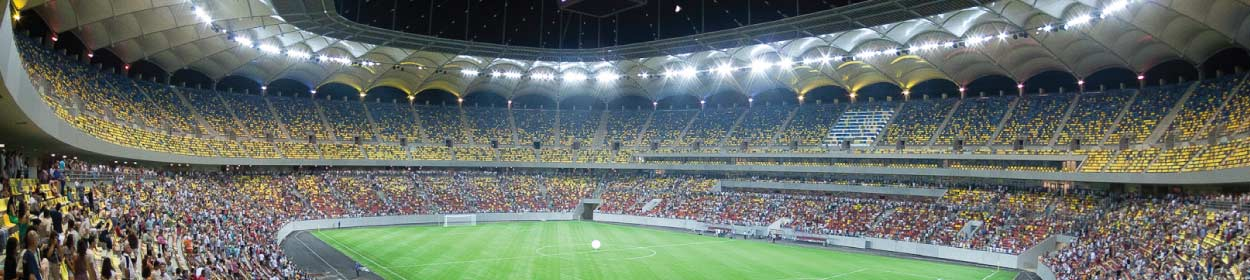 National Arena stadium where Steaua Bucharest play football in the European Europa League