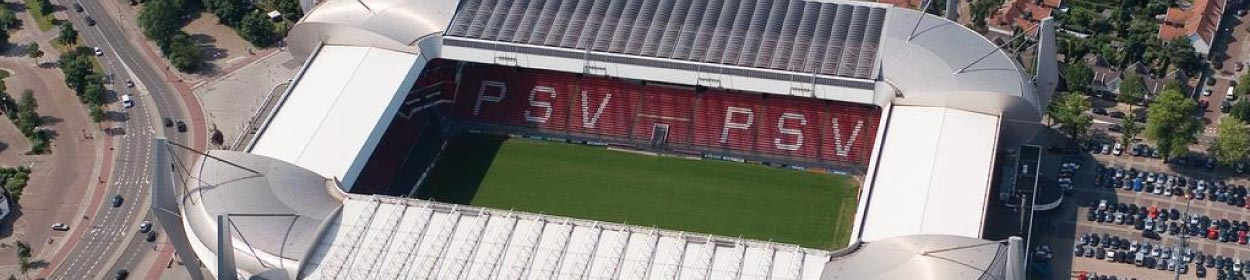 Philips Stadion stadium where PSV play football in the