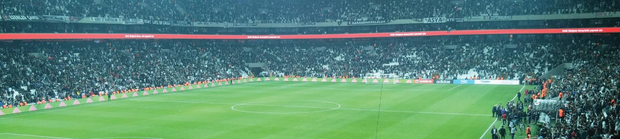 Vodafone Arena stadium where Besiktas play football in the