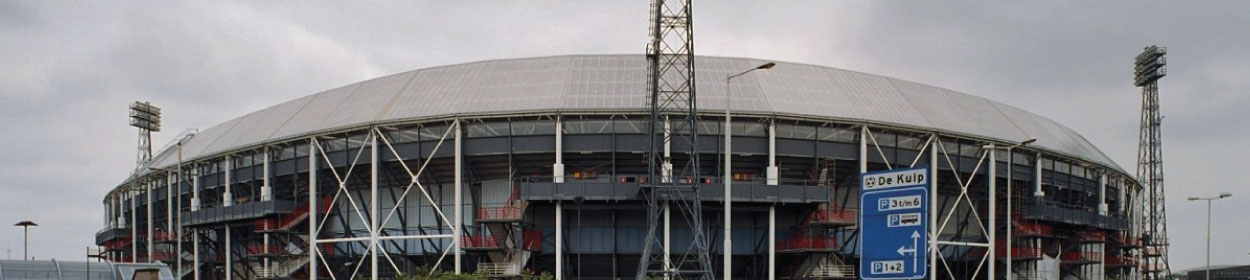 De Kuip stadium where Feyenoord play football in the
