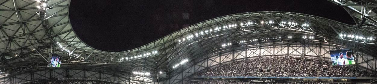 Stade Vélodrome stadium where Marseille play football in the