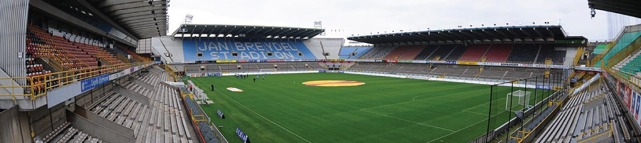 Jan Breydelstadion stadium where Club Brugge play football in the