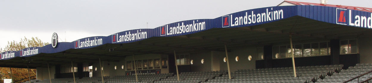 stadium where KR Reykjavik play football in the