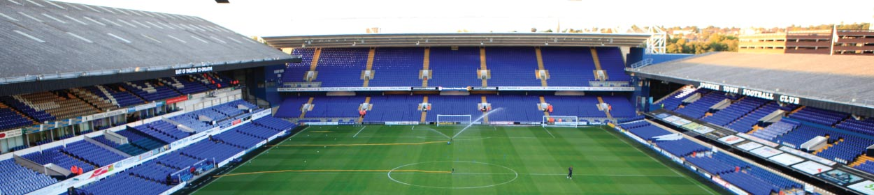 Portman Road stadium where Ipswich Town play football in the Championship