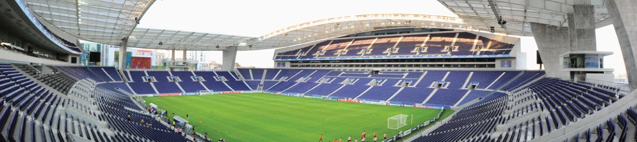 Estádio do Dragão stadium where FC Porto play football in the