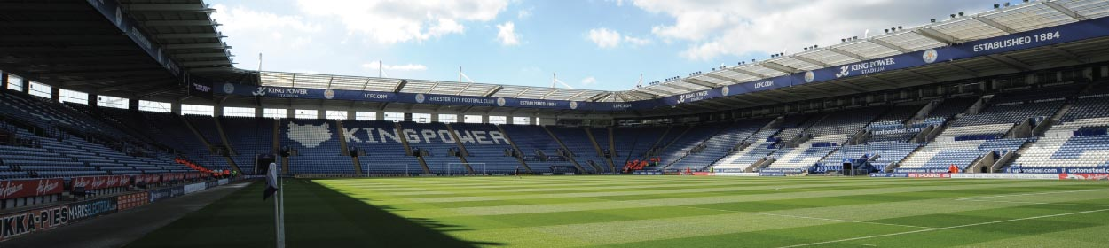 King Power Stadium where Leicester City play football in the Premier League