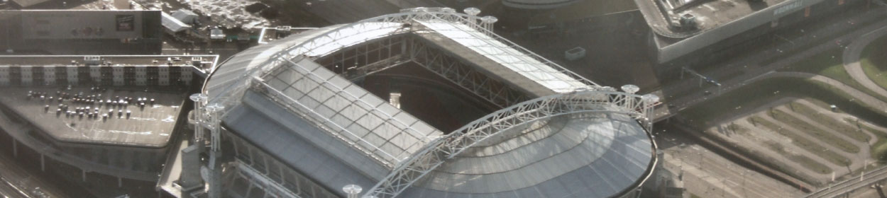 Amsterdam ArenA stadium where Ajax play football in the