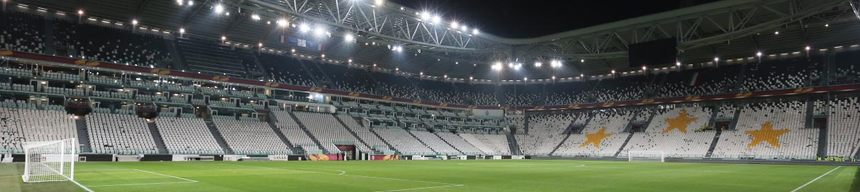Allianz Stadium where Juventus play football in the European Champions League
