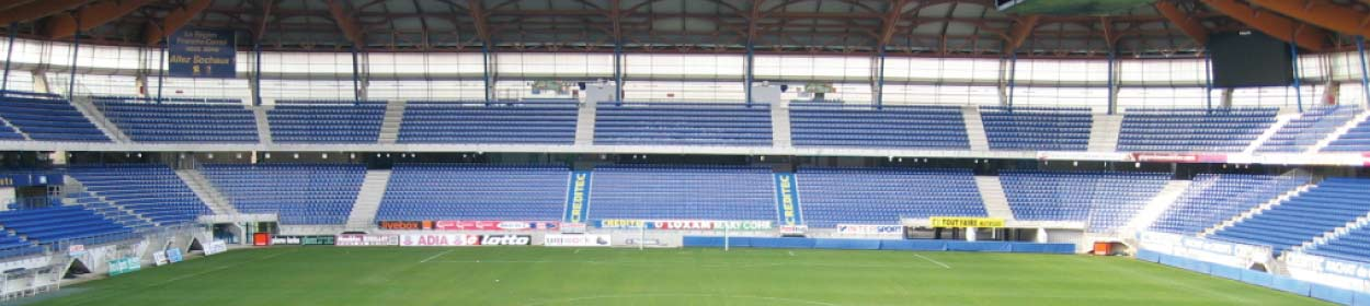 Stade Bonal stadium where Sochaux play football in the