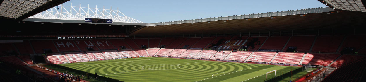 Stadium of Light stadium where Sunderland play football in the