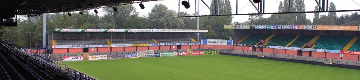 stadium where KSC Lokeren play football in the