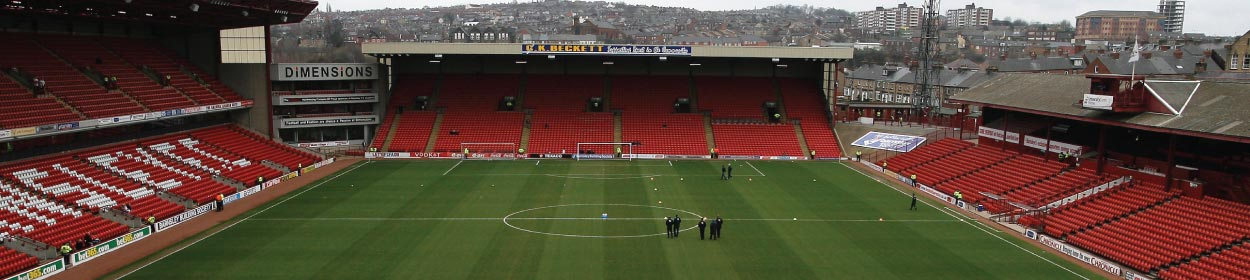 Oakwell stadium where Barnsley play football in the