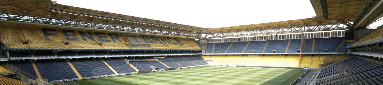 Ulker Stadyumu stadium where Fenerbahce play football in the