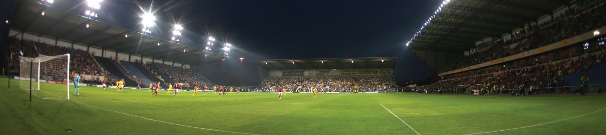 The Kassam Stadium where Oxford United play football in the
