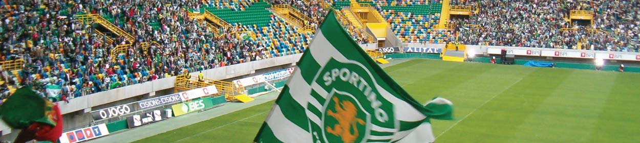 Estádio José Alvalade stadium where Sporting Lisbon play football in the