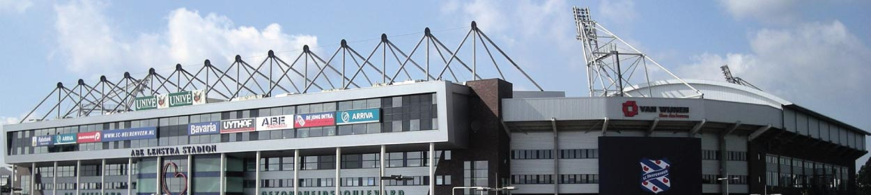 Abe Lenstra Stadion stadium where SC Heerenveen play football in the