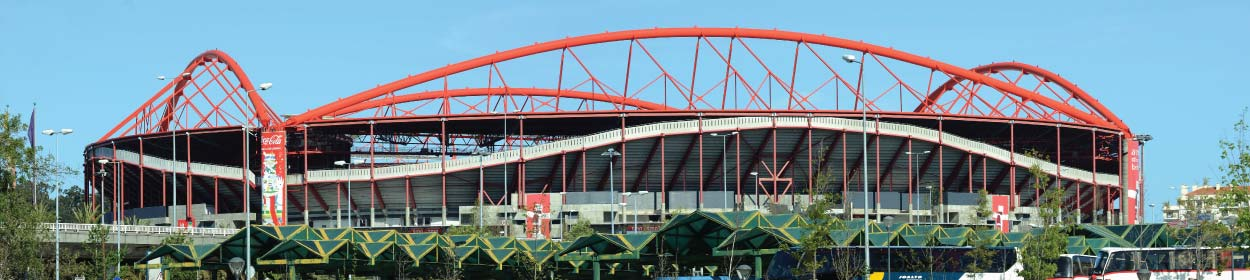 Estádio da Luz stadium where Benfica play football in the