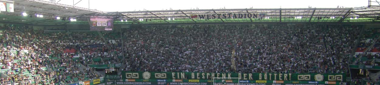 stadium where SK Rapid Wien play football in the