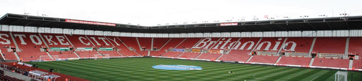 bet365 Stadium where Stoke City play football in the