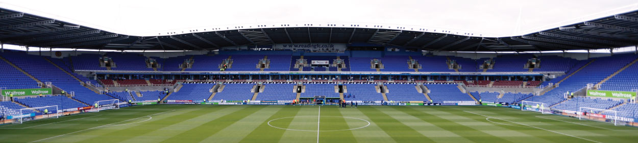 Madejski Stadium where Reading play football in the Championship