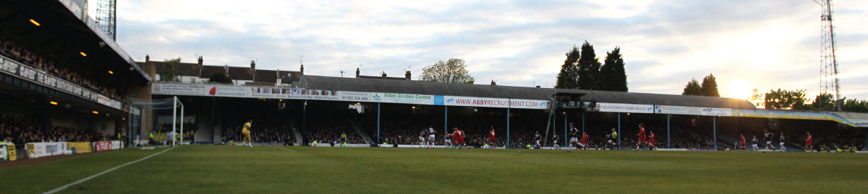 Roots Hall stadium where Southend United play football in the